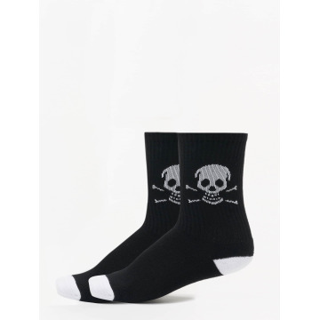 Famous Stars and Straps Calcetines Skull negro