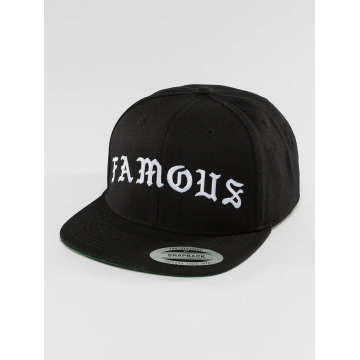 Famous Stars and Straps Snapback Cap Old schwarz