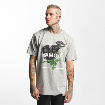 Famous Stars and Straps T-Shirt Life and Death grey