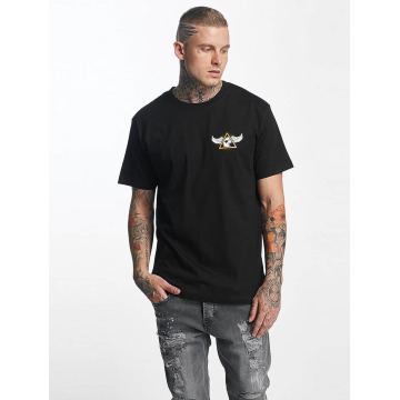 Famous Stars and Straps T-Shirt Pit Stop schwarz