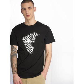 Famous Stars and Straps T-shirt Checker Badge svart