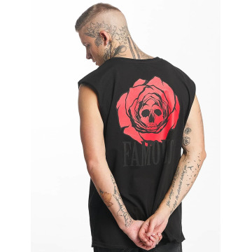 Famous Stars and Straps Tank Top Deadrose svart
