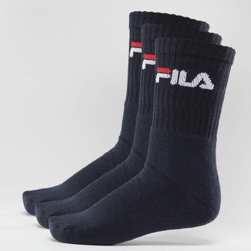 FILA Calcetines 3-Pack azul