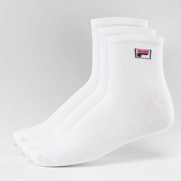 FILA Calcetines 3-Pack Street Socks blanco