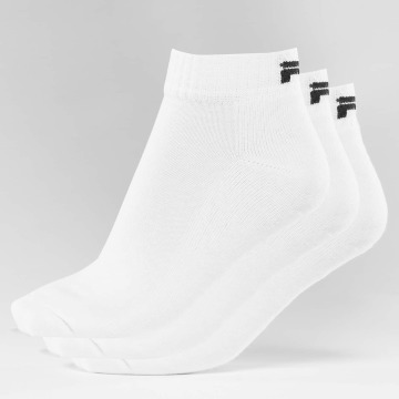 FILA Calcetines 3-Pack blanco