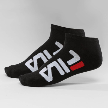 FILA Calcetines 2-Pack Invisible negro