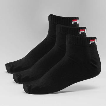 FILA Calcetines 3-Pack Training negro