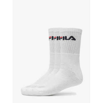 FILA Chaussettes 3-Pack blanc