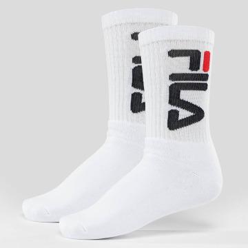 FILA Chaussettes Tennis 2-Pair blanc