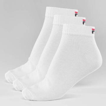 FILA Chaussettes 3-Pack Training blanc