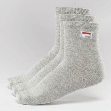 FILA Chaussettes 3-Pack Street gris
