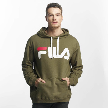 FILA Hoody Urban Line Classic Logo olijfgroen