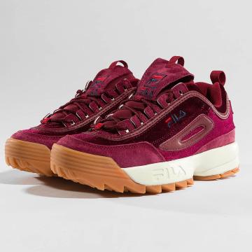 FILA Sneaker Heritage Disruptor rosso