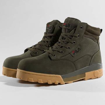 FILA Sneakers Heritage Grunge Mid oliwkowy