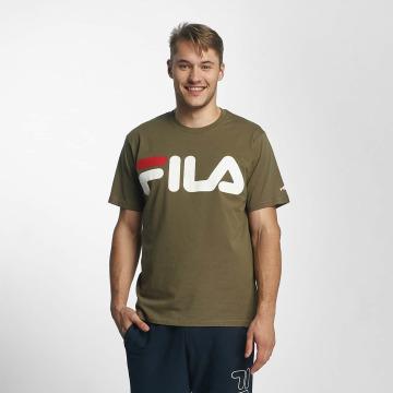 FILA T-shirts Urban Line Classic Logo oliven