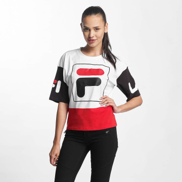 FILA T-Shirty Urban Line Cropped Late bialy