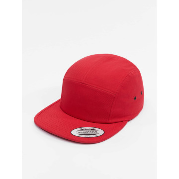 Flexfit 5 Panel Caps Classic Jockey красный