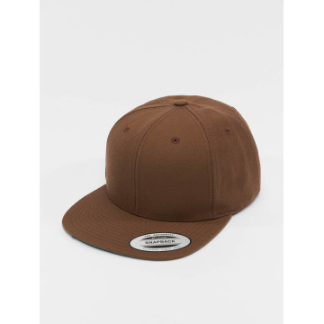 Flexfit Casquette Snapback & Strapback Classic brun