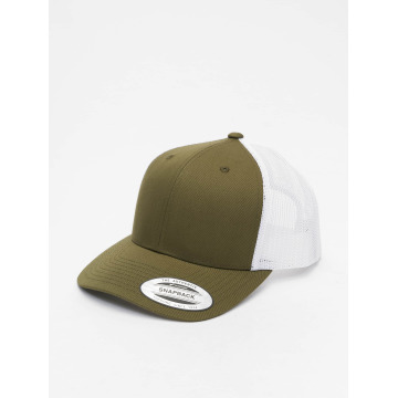 Flexfit Casquette Trucker mesh Retro Two Tone olive