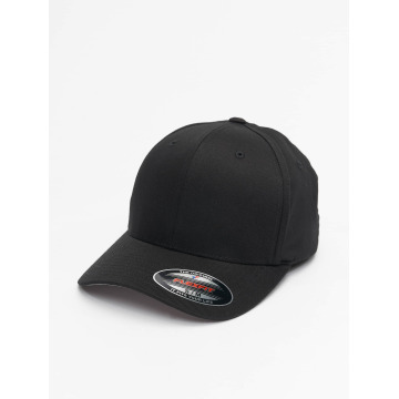 Flexfit Flexfitted Cap Wooly Combed čern