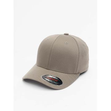 Flexfit Flexfitted Cap Wooly Combed grau