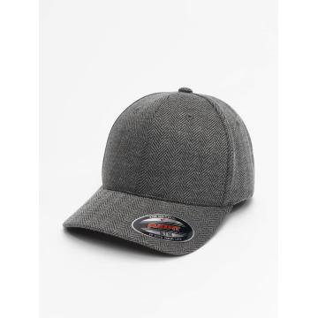 Flexfit Flexfitted Cap Heringbone Melange grijs