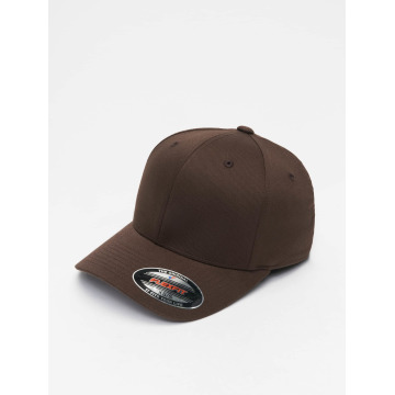 Flexfit Flexfitted Cap Wooly Combed hnedá