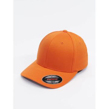 Flexfit Flexfitted-lippikset Wooly Combed oranssi