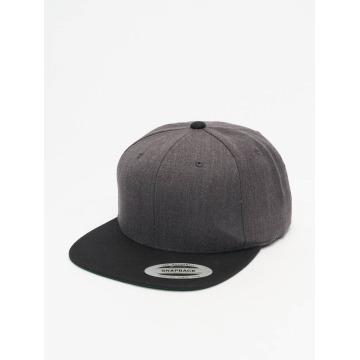 Flexfit Snapback Cap Classic Two Tone grau