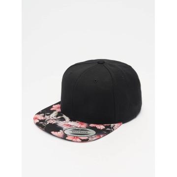 Flexfit Snapback Cap Floral rosso