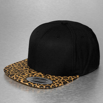 Flexfit Snapback Cap Animal schwarz