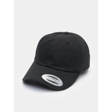 Flexfit Snapback Cap Low Profile Cotton Twill schwarz