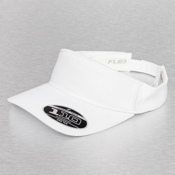 Flexfit Snapback Cap Visor weiß
