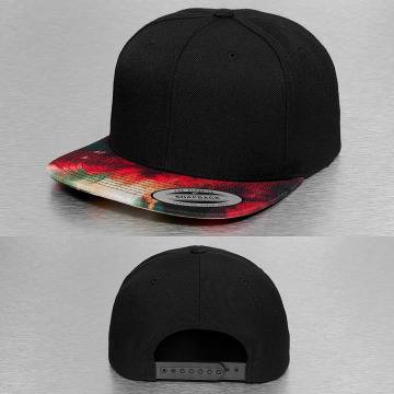 Flexfit snapback cap Oil Paint zwart