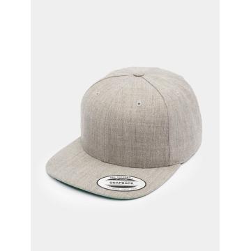 Flexfit Snapback Caps Classic šedá