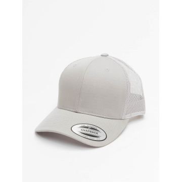 Flexfit Trucker Cap Retro grigio