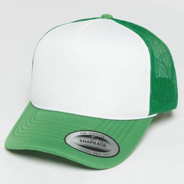 Flexfit Trucker Cap Curved Visor Foam grün
