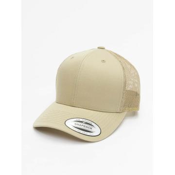 Flexfit trucker cap Retro khaki