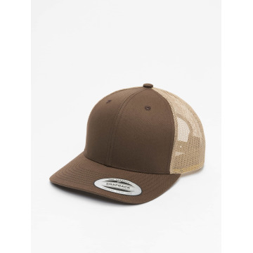 Flexfit Trucker Cap Retro marrone