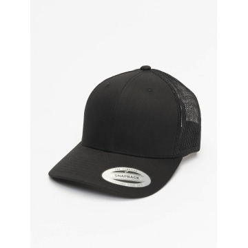 Flexfit Trucker Cap Retro nero