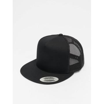 Flexfit trucker cap Classic zwart