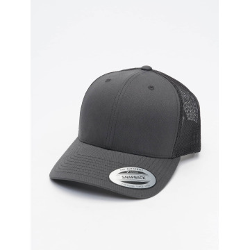 Flexfit Trucker Caps Retro szary