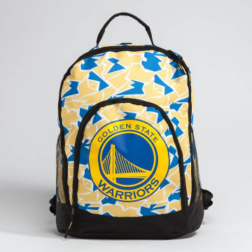Forever Collectibles Batohy NBA Camouflage Warriors èierna