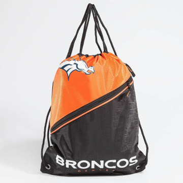 Forever Collectibles Beutel NFL Diagonal Zip Drawstring Broncos svart