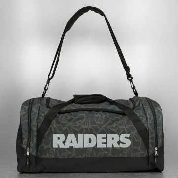 Forever Collectibles Bolso NFL Camouflage Oakland Raiders negro