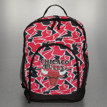 Forever Collectibles Mochila NBA Camouflage Chicago Bulls rojo