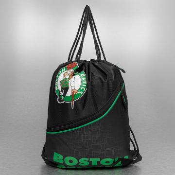 Forever Collectibles Sac à cordons NBA Diagonal Zip Drawstring Boston Celtics noir