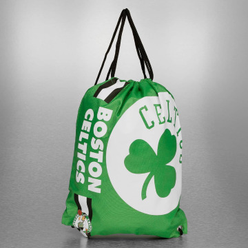 Forever Collectibles Sac à cordons NBA Cropped Logo Boston Celtics vert