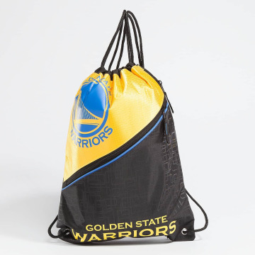 Forever Collectibles Shopper NBA Diagonal Zip Drawstring Warriors zwart