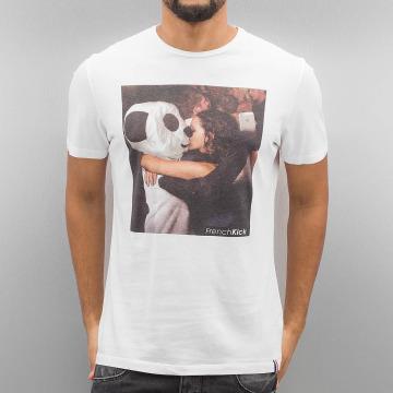 French Kick Camiseta Phone Love blanco
